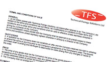 TFS Terms and Conditions of Sale